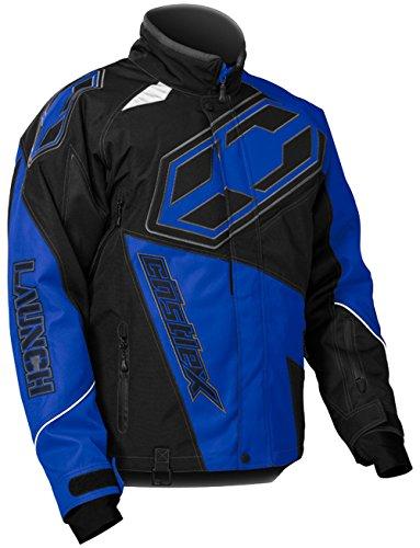 Castle X Launch G4 Mens Snowmobile Jacket - Blue - 2XL