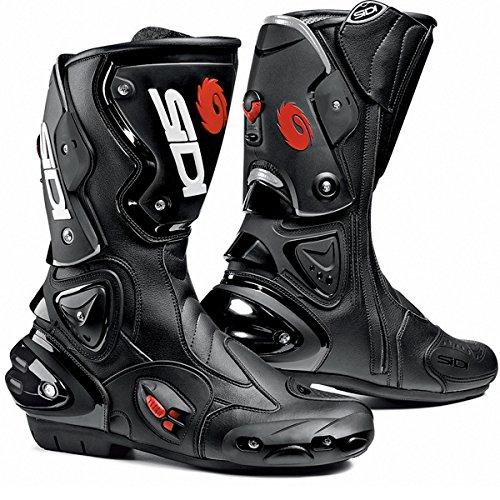 SIDI VERTIGO MOTORCYCLE BOOTS BLACK SIZE 11  45