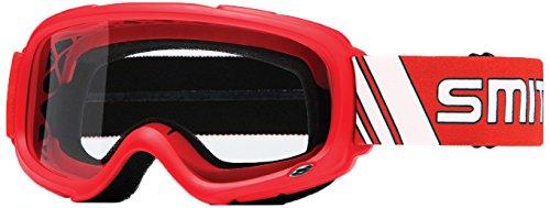 Smith Optics Gambler MX Motocross Goggles Red FrameClear Lens