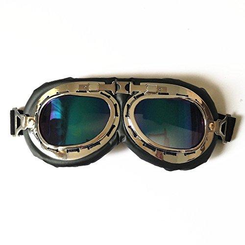 Aviator Pilot Cruiser Motorcycle Bicycle Scooter ATV Goggles Eyewear Eyewear Glasses UV