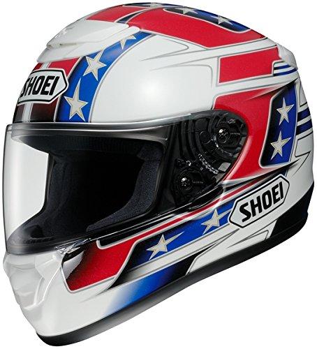 Shoei Qwest Banner Tc-1 Size:xsm Full Face Motorcycle Helmet