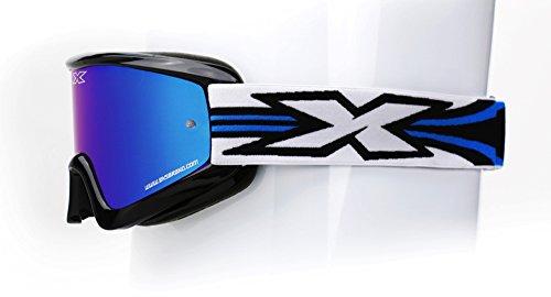 EKS BRAND Unisex-Adult GOX Limited-X MX Motorcross Goggles Black One Size