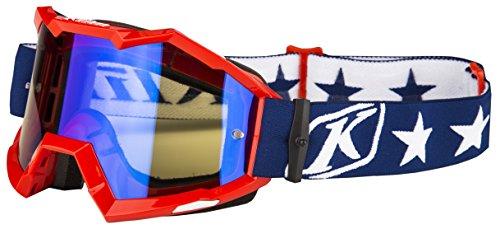 Klim Viper Patriot Mirror Lens Mens Motocross Goggles