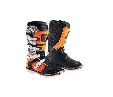 Gaerne 2016 Gaerne SG-J Kids Motocross Boots Black Orange MX KTM SIZE 1