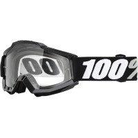 100 MX ATV Motocross Goggles Accuri Tornado Clear Lens