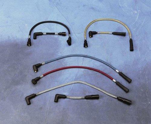 Magnum Spark Plug Wires Black Pearl for Harley Davidson FXR