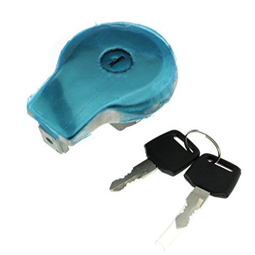 Alpha Rider Fuel Gas Tank Cap Lock Cover  Keys for YAMAHA Midnight Virago 750 1983 XV750M Virago 750 1988-1997 XV750 Virago 750 1981-1983 XV750