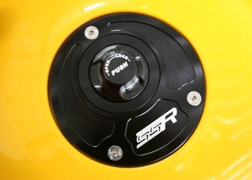 Kawasaki Quick Release Keyless Billet Gas Fuel Petrol Cap Lid ZRX1200R ZX-6R 636