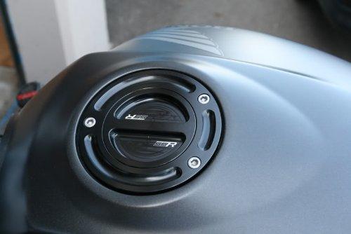 New Kayo MiniGP Gas Fuel Tank Petrol Cap Cover Keyless CNC Billet Aluminum