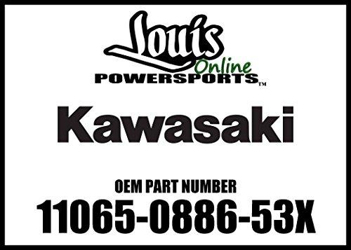 Kawasaki 16-17 NINJA Cap Shroud Lh MCSB 11065-0886-53X New OEM