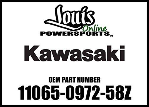 Kawasaki 2017 Z900 Z900 ABS Cap Comp Lh Black 11065-0972-58Z New OEM