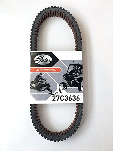 Kawasaki Teryx 4 Belt 2016-2017 Gates CVT Carbon Cord Drive Belt 27C3636
