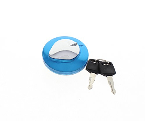 FXCNC Racing Motorcycle Gas Cap Fuel Tank Cap With Key Lock Set Fit For Honda Rebel CA125 CA250 450CMX250 CMX250CVTX 1300MAGNA 250 750