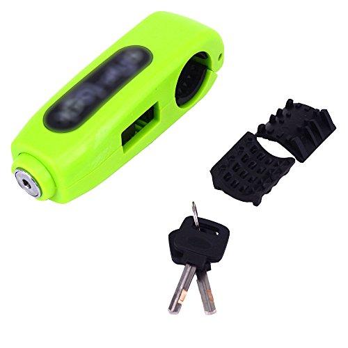 ZJTG AUTOMOTIVE Caps-Lock Handlebar Clutch Or Brake Lever Grip Lock Anti Theft For Motorcycle