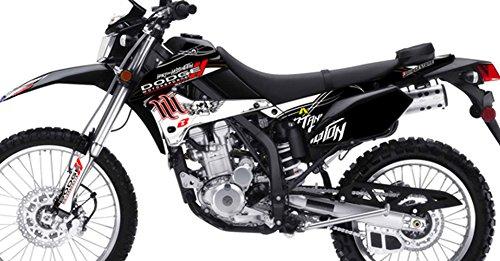 Kawasaki KLX 250 Custom Sticker Graphic Decals Kits Hart Huntington Team Dodge Replica