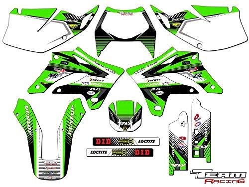 Team Racing Graphics kit for 2004-2007 Kawasaki KLX 250 ANALOG Complete Kit