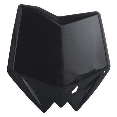 Polisport Number Plate Black for Kawasaki KX 125-450 Suzuki RM-Z250