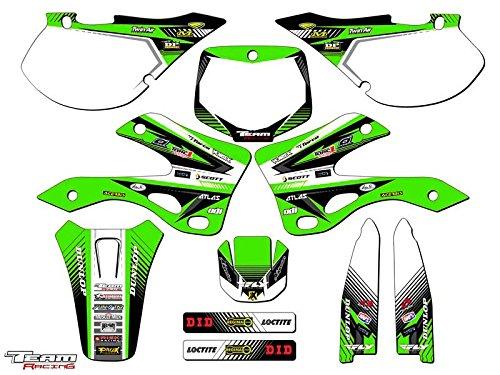 Team Racing Graphics kit for 1999-2002 Kawasaki KX 125250 ANALOG Complete Kit