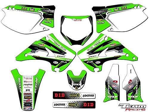 Team Racing Graphics kit for 2003-2012 Kawasaki KX 125250 ANALOG Complete Kit
