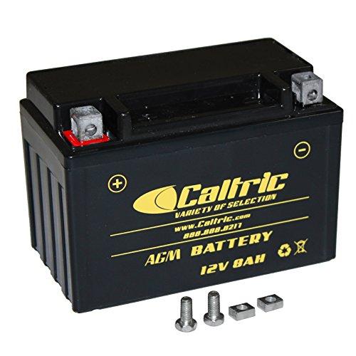 CALTRIC AGM BATTERY Fits KAWASAKI NINJA 600 ZX-6R ZX600P ZX600R 2007-2012