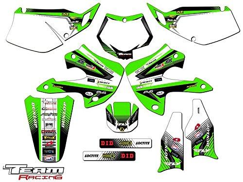 Team Racing Graphics kit for 1997-2008 Kawasaki KLX 300 ANALOG Complete Kit
