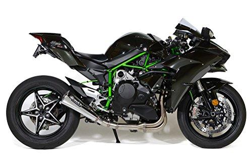 Brocks Performance Alien Head 2 Stainless Full System for 2015-16 Kawasaki H2 w 14 Muffler 398399