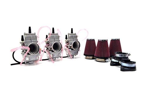 Kawasaki H2 750 72-75 Mikuni TM34 34mm Flat Slide Carburetor Kit NCS241 by Niche Cycle Supply