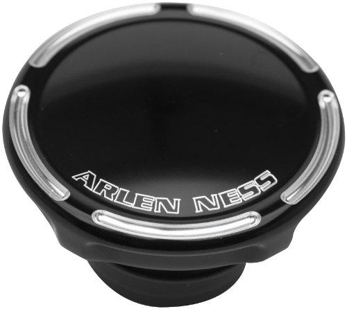 Arlen Ness 70-004 Black Billet Gas CapLED Fuel Gauge Cap