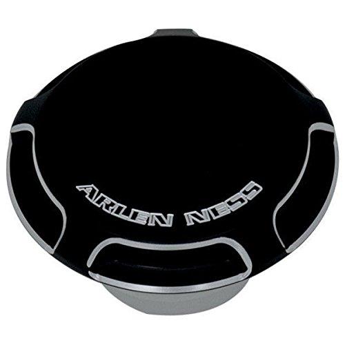 Arlen Ness 70-300 Black Billet Gas CapLED Fuel Gauge Cap