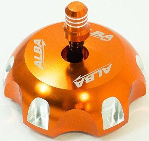 Polaris Scrambler 500 2x4  2001-2002 and 4x4 1997-2012 ATV Quad Billet Gas Cap Orange