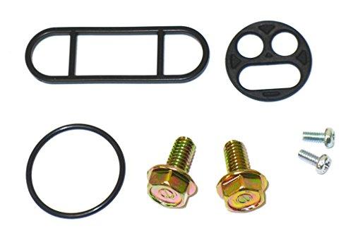 Fuel Petcock Repair Kit for KAWASAKIS KVF400 Prairie KVF300 Prairie KLX110 VN1500DE Vulcan Classic ZX900B Ninja ZX-9R KX250 SUZUKIS DR350 - Kaizen 218-2727