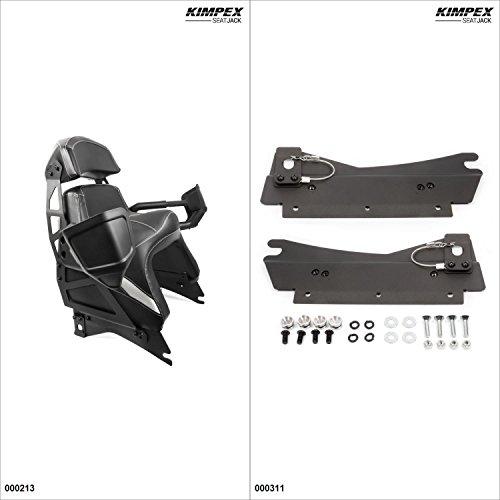 Kimpex Seat Jack Passenger Seat Kit - Black Polaris Indy 600 2015
