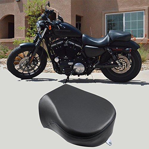 Rear Passenger Seat Pillion Cushion for Harley Sportster Iron 883 883CN XL1200