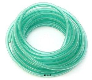 Helix Clear Green 18 Polyurethane Fuel  Vent Line - 5 Feet