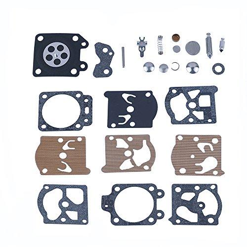 Savior Carburetor Carb Rebuild Kit Gasket Diaphragm for Walbro K20 WAT K20-WAT K20WAT WA WT Series Carby