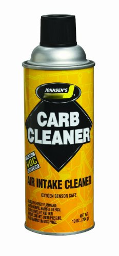 Johnsens 4641-12PK VOC Compliant Carburetor Cleaner Spray - 10 oz Pack of 12