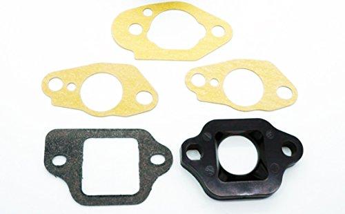 Honda Carburetor Insulator 16211-ZL8-000 and Gaskets 16221-883-800 x2 16228-ZL8-000 16212-ZL8-000