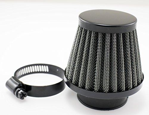 Satin Black 39mm Motorcycle Air Filter Pod Style CB750K KZ550 KZ650 GS550