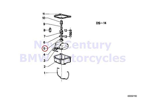 2 x BMW Genuine Motorcycle Carburetor-Float AssyJet Main Jet 140 R65
