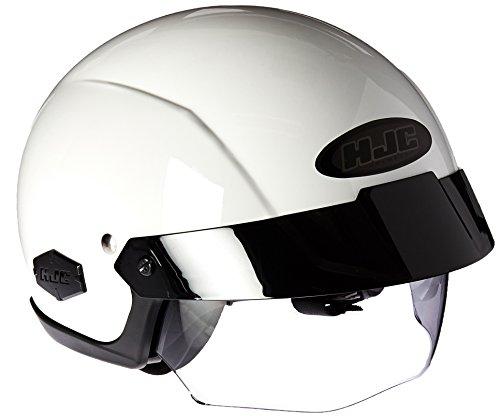 Hjc Is-cruiser Half-shell Motorcycle Riding Helmet (white, Medium)