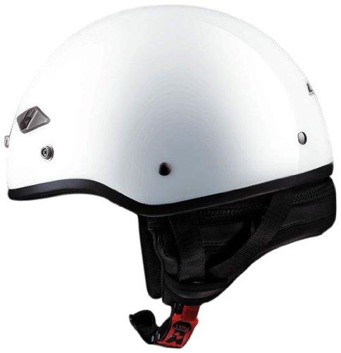 Ls2 Helmets Hh568 Half Helmet (solid Pearl White, Medium)