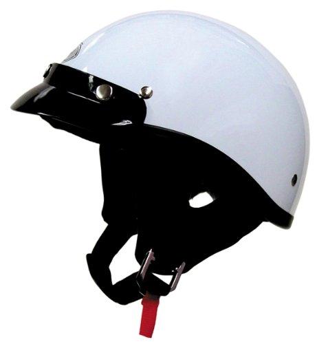 Thh T-70 Ultra Lite Half Helmet Large | White