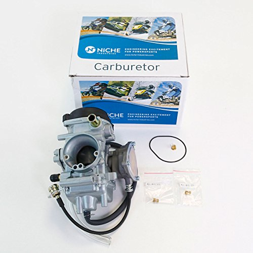 Niche Industries 1293 Yamaha Grizzly 350 Carburetor Assembly 2007-2014