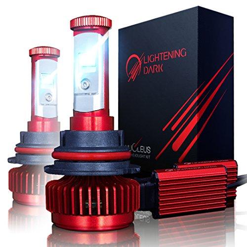 LIGHTENING DARK 9007 LED Headlight Bulbs Conversion Kit HiLow CREE XPL 6K Cool White7200 Lumen - 3 Yr Warranty