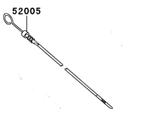 Kawasaki Mule 4010 3010 2510 Oil Gauge  Dip Stick Diesel Engines Only OEM 52005-1139