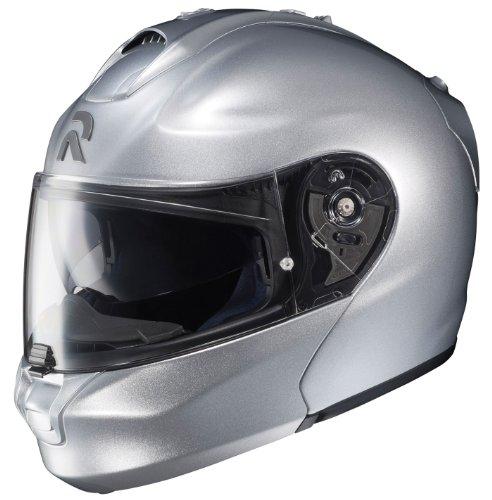 HJC RHPA-Max Modular Motorcycle Helmet Silver Medium