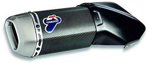 Ducati MTS1200 15-17 Carbon Fiber Slip-On Exhaust System Termignoni 96480711A
