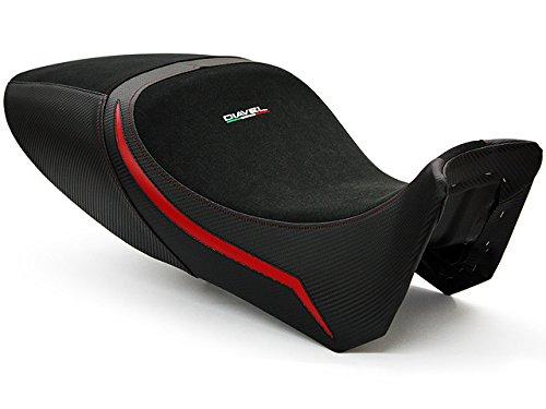 Ducati Diavel 2011-2014 Luimoto Team Italia Suede Fits Original Seat Seat Cover