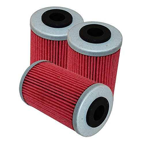 3 PACK Oil Filter FITS KTM 690 ENDURO R DUKE R 2008 2009 2010 2011 2012 2013