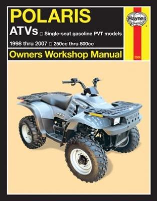 Haynes Polaris ATVs 250 to 500cc Manual 1998-2006